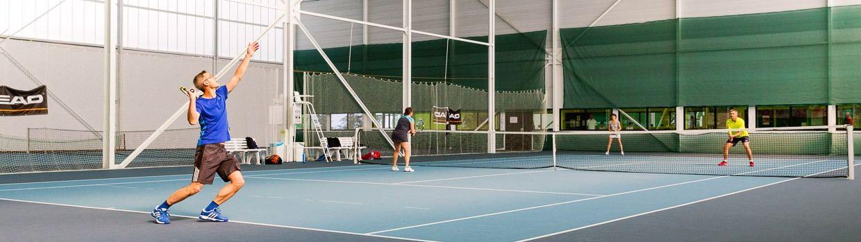 Bandeau de la page 'Pôle tennis Courts du bois